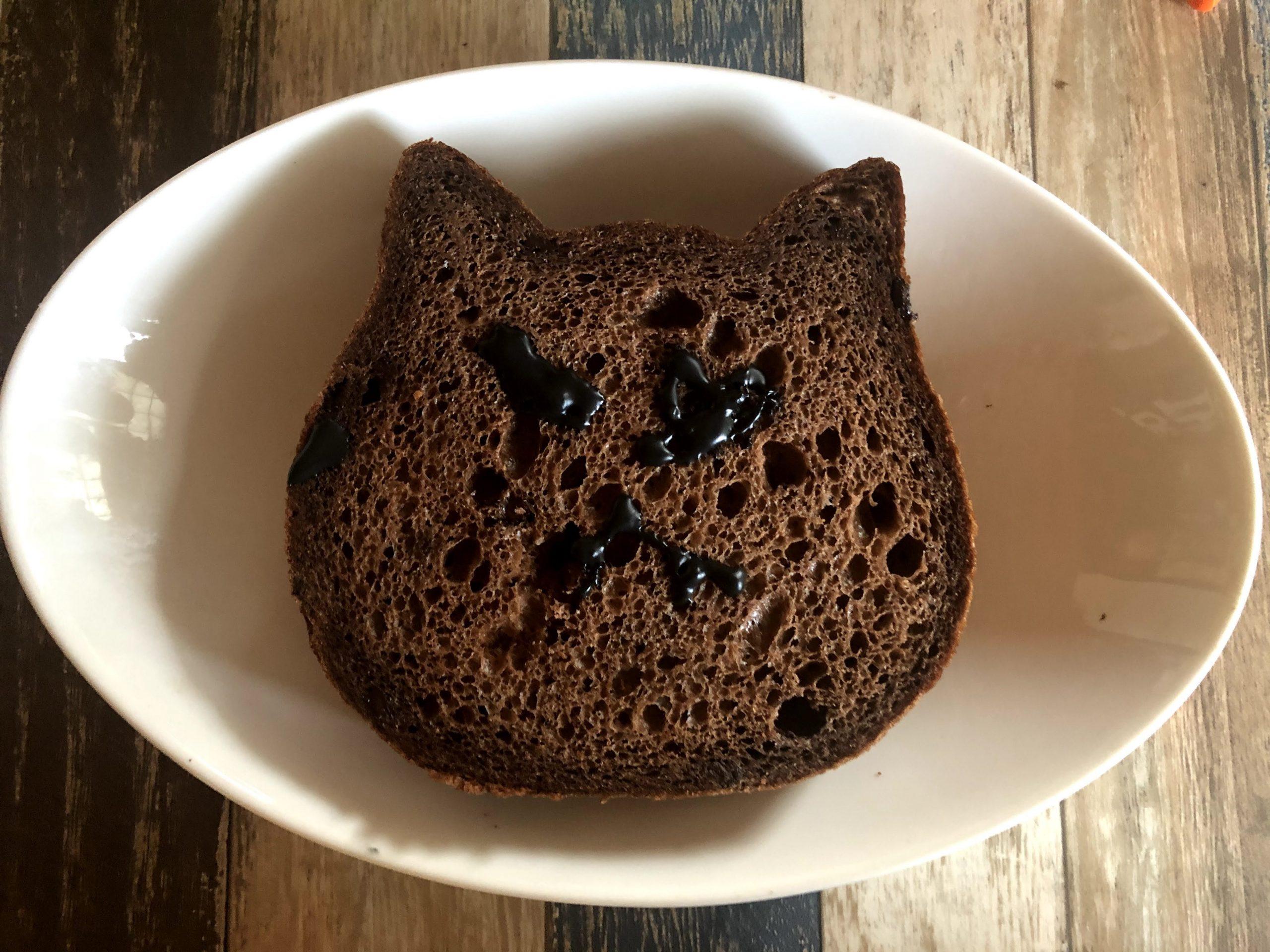 ねこねこパン【チョコ味】
